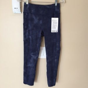 "lululemon Invigorate HR Crop 23"" *Diamond Dye"